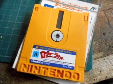 I really like the way Famicom Disk System disks look, but man those exposed disk windows worry the crap out of me