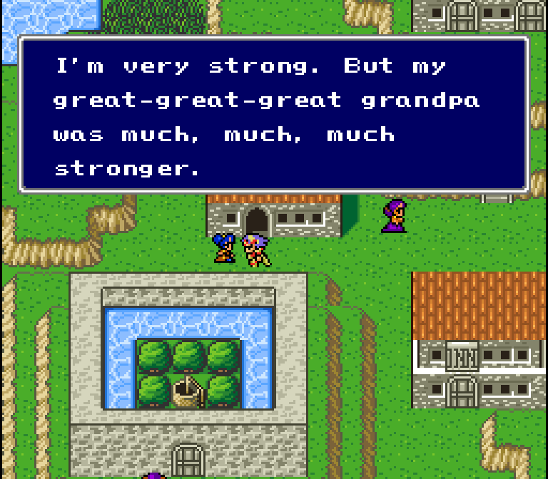 I feel like there's a strong possibility that I'm wrong here though, and this use of zutto is just meant for emphasis on the 3rd grandpa and not necessarily indicative of extra unstated grandpas. Grandpas are now a new unit of measurement btw