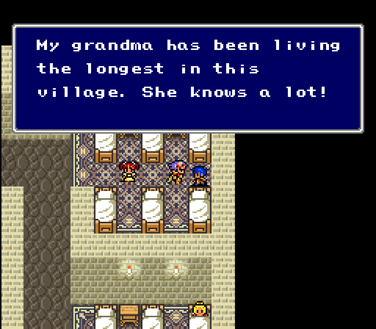 I wonder who the longest person in the village is