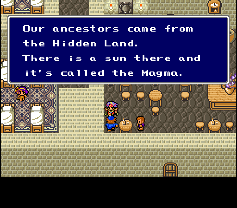 I just read the Beautiful Land book, for some reason this Hidden Land name reminds me of it