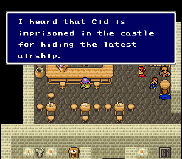 Sorry, Cecil! The Cid is in another castle!