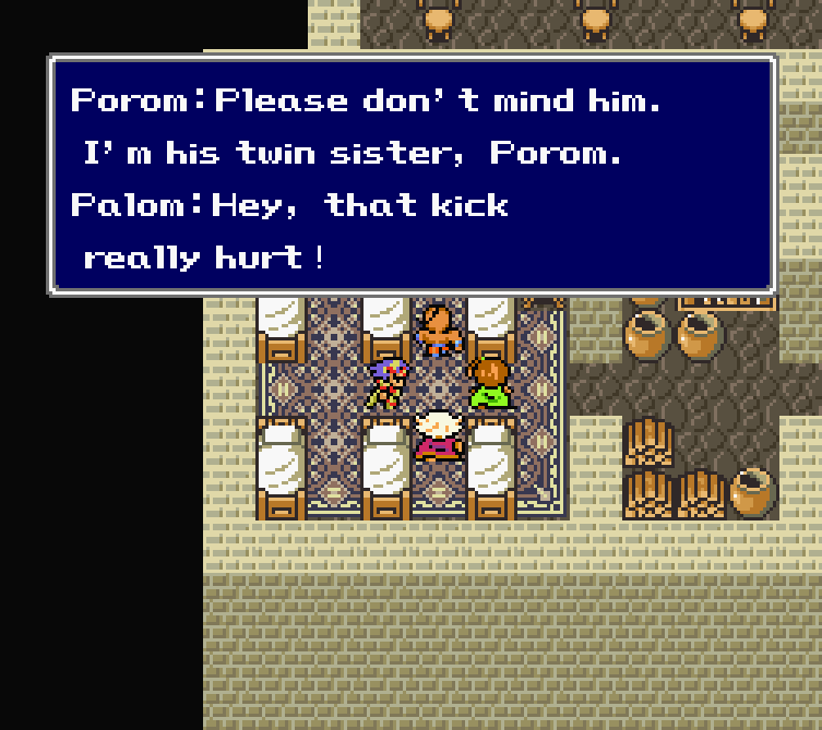 Child abuse in Final Fantasy IV? It's more likely than you think