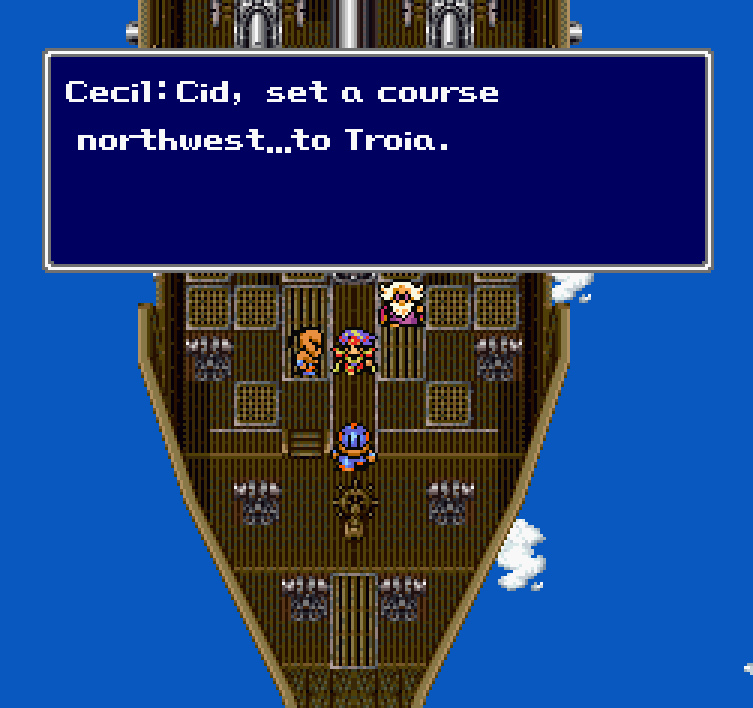That's some pretty sloppy text formatting in the GBA version