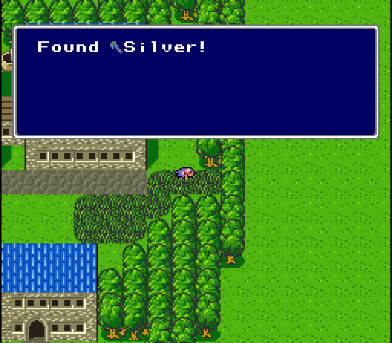 One thing I like about this game is all the hidden stuff. It kinda disappoints me when RPGs don't have hidden items. EarthBound barely had any at all, for example...
