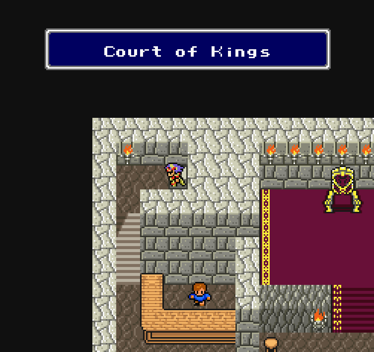 I just realized this place is called 'King' because of the big throne room theme going on. I'm embarrassed now