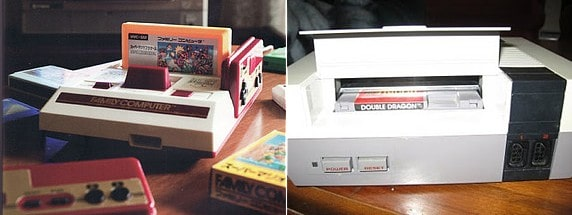 Honestly, truly, I think the Famicom looks incredibly tacky, Nintendo was wise to make the NES look a lot less like a toy.