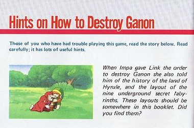 I bet kids with Gannon or Ganon as their last name got made fun of