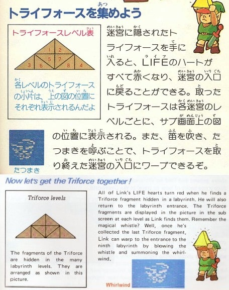 legend of zelda ii the adventure of link instruction booklet nes manual only no game