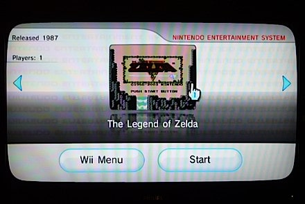 Picture not by me since I modded my Wii hey that rhymes