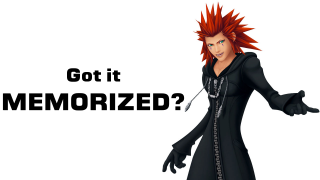 Memorize This! A Look at Axel from Kingdom Hearts