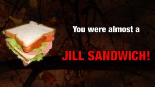 "Resident Evil's ""Jill Sandwich"" in Japanese"