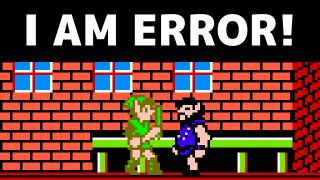 "Why That One Guy in Zelda II Says ""I Am Error"""