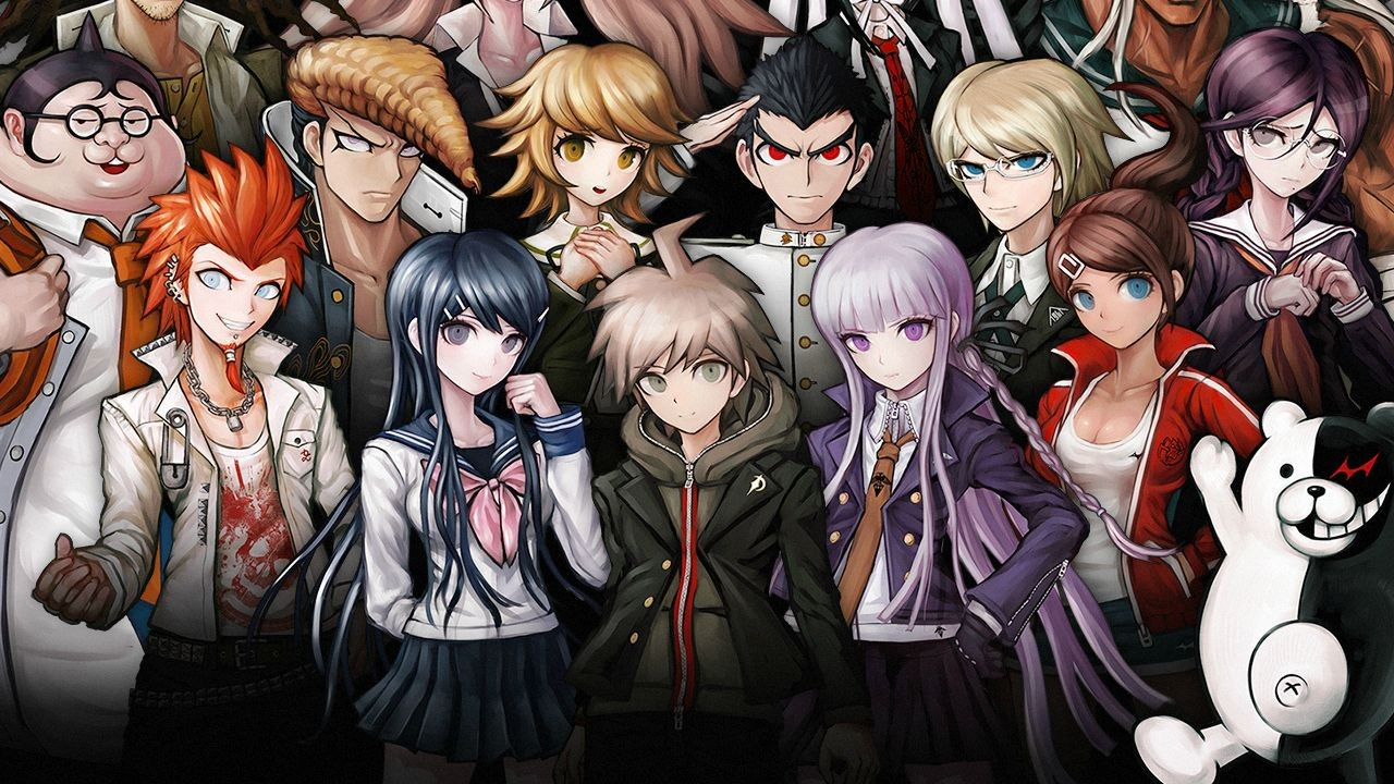 ¿Que anime es? Dangan-ronpa-fan-translation