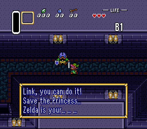 Yes, I still call this game Zelda III, I think that shows my age