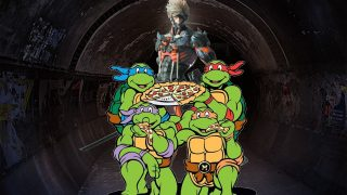 Ninja Turtle References in Metal Gear Rising: Revengeance?