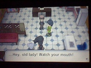 …Hey, old lady! Watch your mouth!