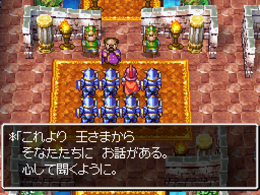 How the Heavy English Accents in Dragon Quest IV Work in