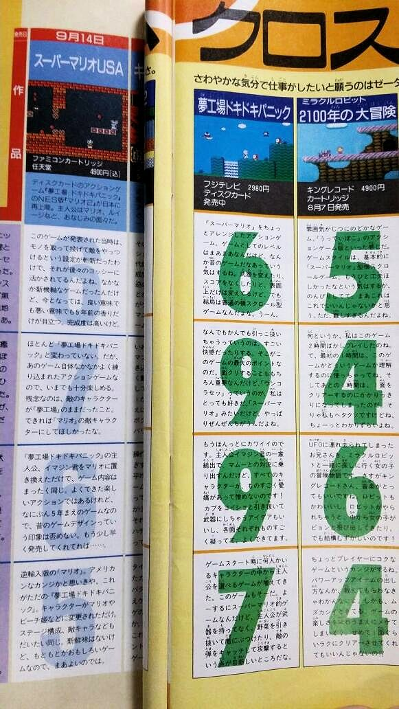 What Did Famitsu Think of American Super Mario Bros  2? « Legends of