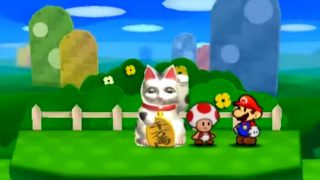 What That Cat Sign Says in Paper Mario Sticker Star