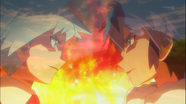 Pokemon is serious business. You can even catch on fire