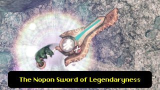 What's Written on this Nopon Monado in Xenoblade X?