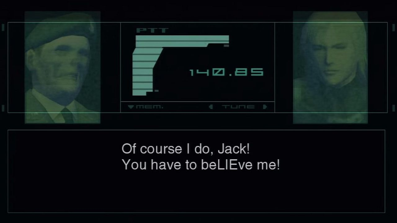 Metal Gear Solid 2 BeLIEve Me