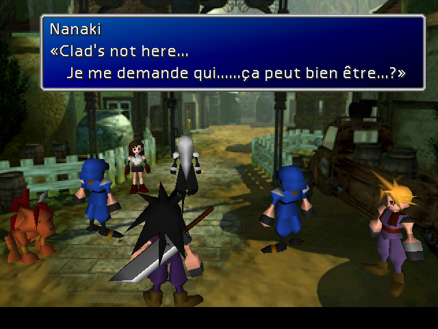 I'm so fascinated by the apparently terrible localizations this game got into French, Spanish, and more