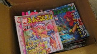 We got lots and lots of Japanese magazines and books to go through