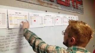 Tony lays out our production schedule this year