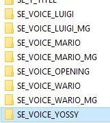 Checking out the voice files inside Mario 64 DS.
