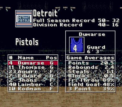 Detroit Pistols