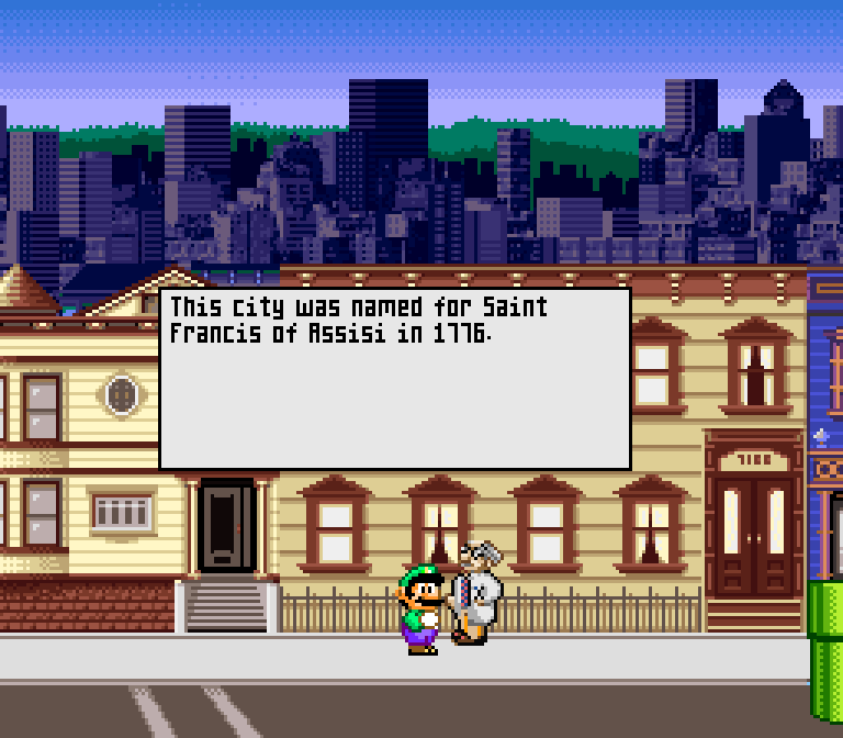 Just imagine the excitement of getting a brand new Super NES Mario game... and then seeing this.