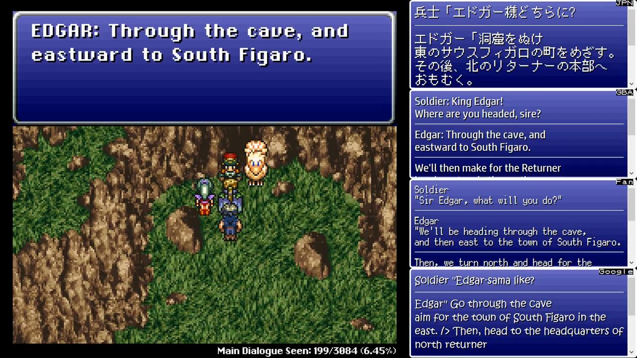 Final Fantasy 6 Rom final fantasy vi translation comparison « legends of