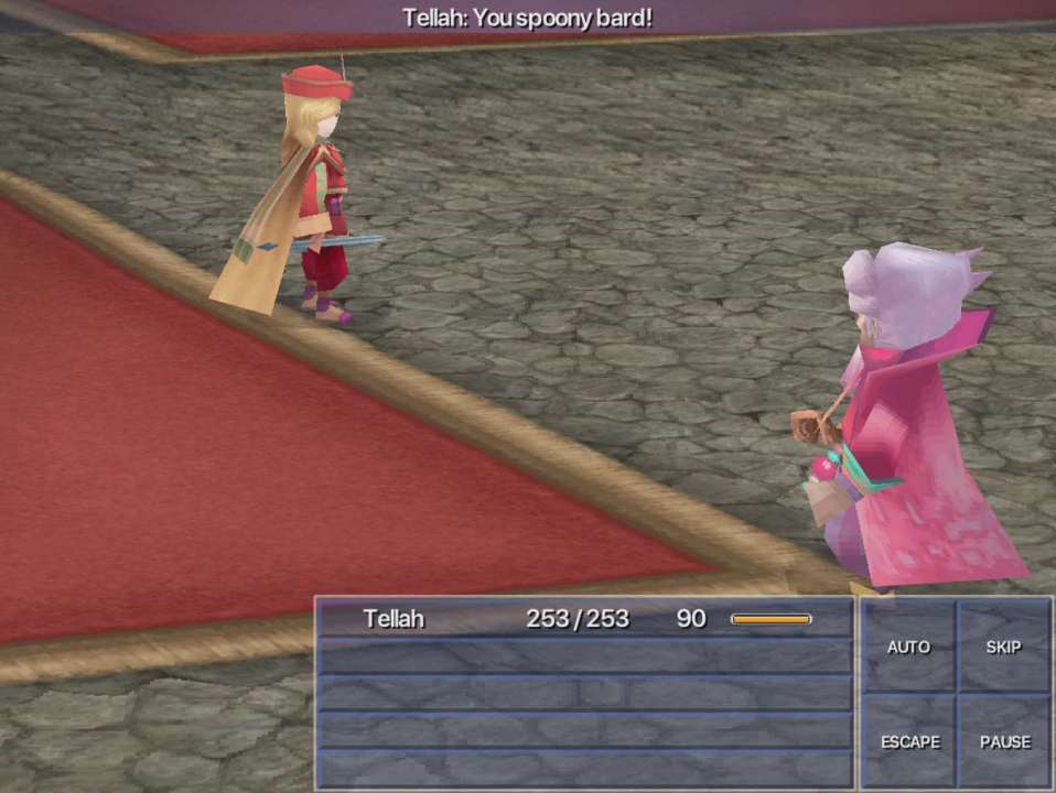 """Famous Game Translation Quotes: """"You Spoony Bard!"""" « Legends of"""