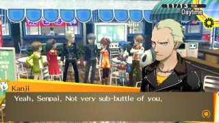 "How Persona 4 Golden's ""Sub-Buttle"" Joke Works in Japanese"