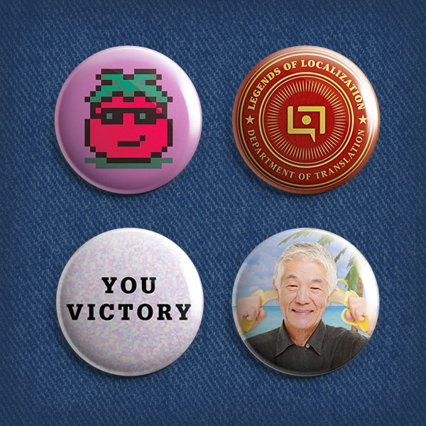 Legends of Localization Button Set