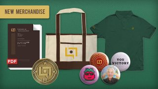 New Legends of Localization Polo, Pins, Tote Bag, and More
