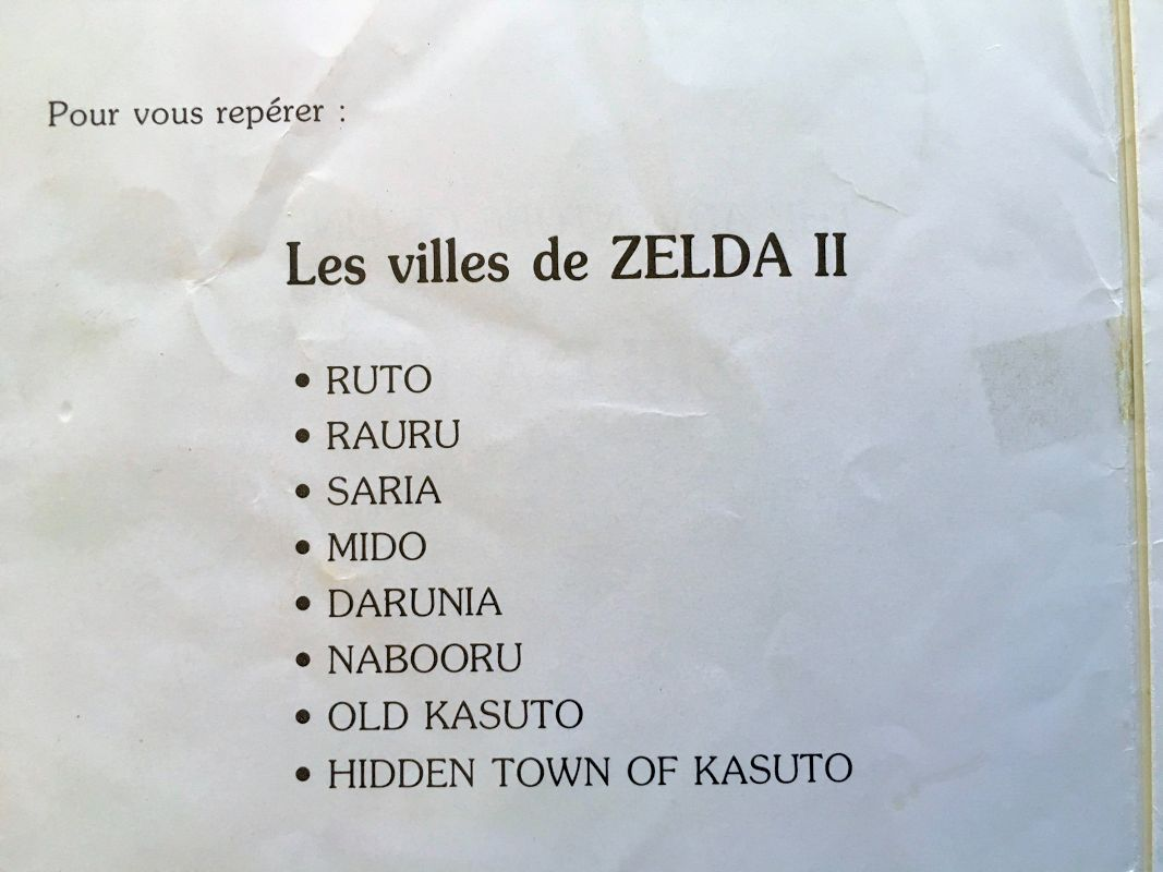Nintendo's Official & Unusual French Translation of Zelda II