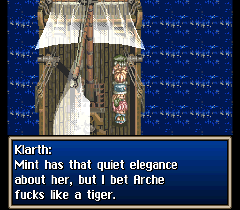 """The Infamous """"Arche F***s Like a Tiger"""" Scene in Tales of"""