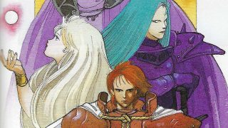 Seiken Densetsu Guide Scans: Scenery and Character Illustrations