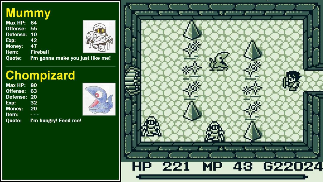 Seiken Densetsu / Final Fantasy Adventure Translation